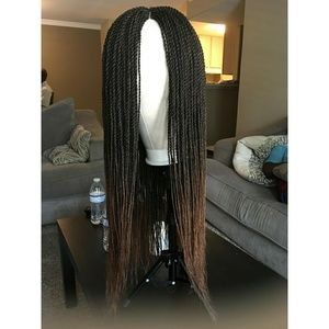 Ombre Blond Senegalese Twist Wig